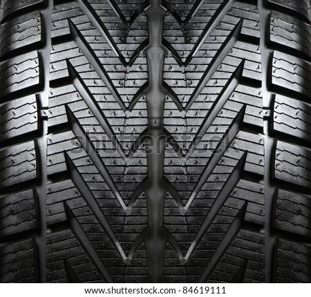 Tyre Tread - stock photo