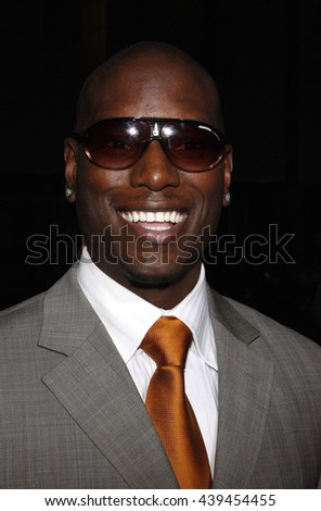 "Tyrese Gibson at the Los Angeles Premiere of ""Changeling"" held at the Academy of Motion Picture Arts and Sciences in Beverly Hills, USA on October 23, 2008. - stock photo"