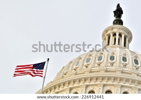 U.S. Capitol (Washington DC, USA) - stock photo