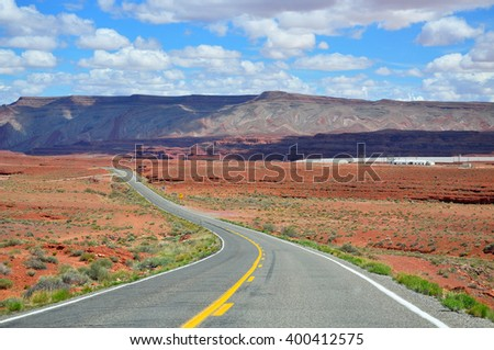U.S. Route 163 is in the states of Arizona and Utah. The highway cuts through the heart of Monument Valley and has been featured in numerous movies and commercials.