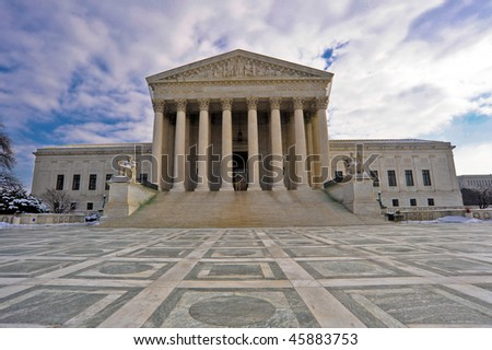 U.S. Supreme Court - stock photo