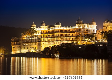Udaipur City Palace in Rajasthan is one of the major tourist attractions in India