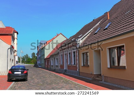Ueckermuende - stock photo