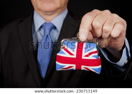 UK Finances - stock photo