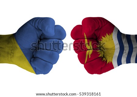 UKRAINE vs KIRIBATI