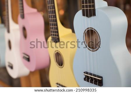 ukulele - stock photo