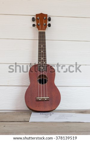 ukulele and key note