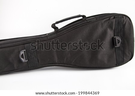 Ukulele hawaiian guitar  bag isolated on white background