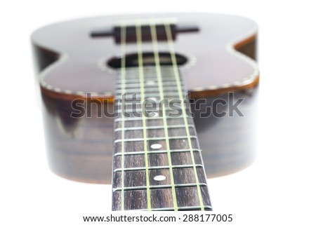 Ukulele Soft Ukulele Soft Focus on String