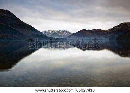 Ullswater, Lake District, Cumbria UK - stock photo