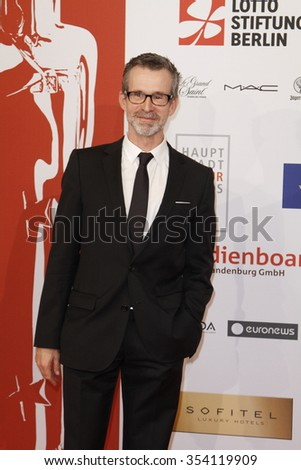 Ulrich Matthes attending the European Film Awards held at Haus der Berliner Festspiele, Berlin, Germany, 12.12.2015.