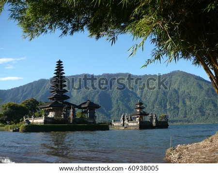 Ulun Danu Bratan - stock photo
