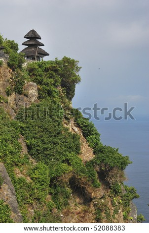Uluwatu temple, Bali - stock photo