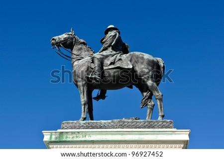 Ulysses S. Grant Statue - stock photo