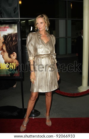 """Uma Thurman at the """"Ceremony"""" Los Angeles Premiere, Arclight, Hollywood, CA. 03-22-11 - stock photo"""