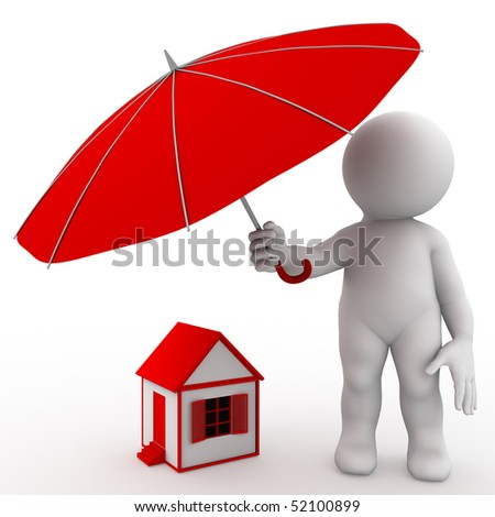 Umbrella - stock photo