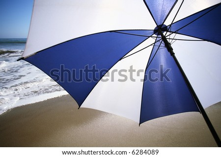 umbrella at beach