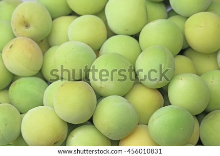 Ume. Japanese plums.