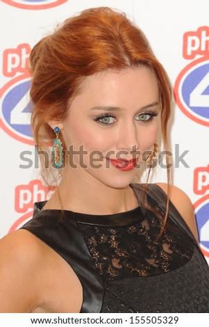 Una Healey (The Saturdays) launches the new iPhone 5S and 5C at Phones 4U Oxford Street, London. 20/09/2013 - stock photo