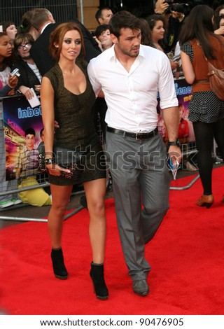 Una Healy and Ben Foden arriving for The Inbetweeners, The Movie, film premiere at the Vue Leicester Square, London. 16/08/2011 Picture by: Alexandra Glen / Featureflash