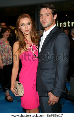 Una Healy and boyfriend Ben Foden arriving for the UK premiere of 'Pirates Of The Carribean 4: On Stranger Tides', at Vue Westfield, London. 12/05/2011. Picture by: Alexandra Glen / Featureflash