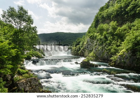 Una National Park, Bosnia Herzegovina - stock photo