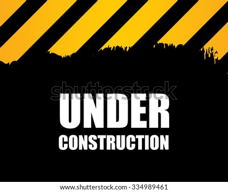 under construction - abstract background - stock photo