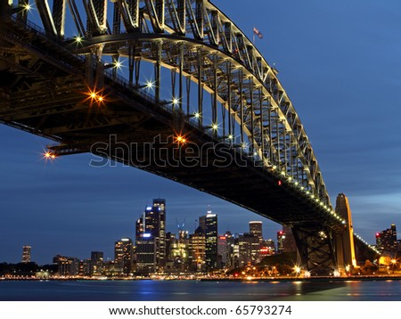 Under the Bridge - stock photo