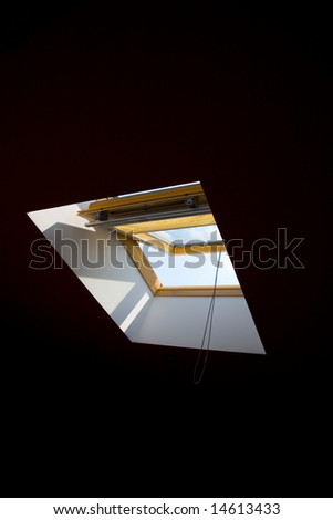Under the Roof - stock photo