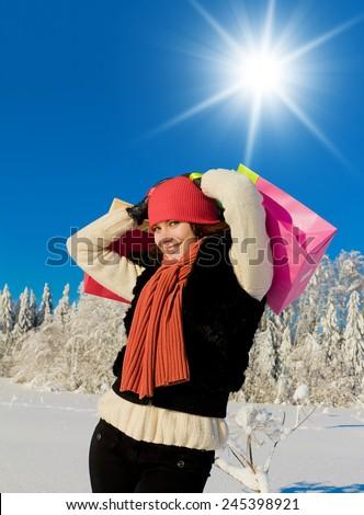 Under the Sun Midwinter Joy  - stock photo