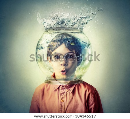 Under water - stock photo
