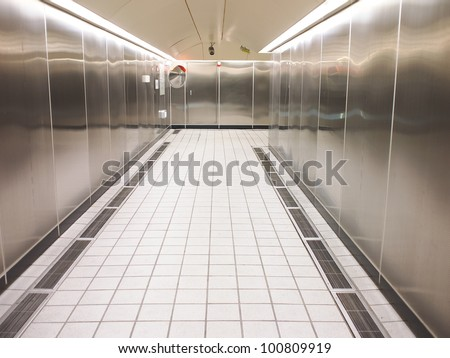 interior empty refrigerated trailer stock photo 507837313 shutterstock. Black Bedroom Furniture Sets. Home Design Ideas