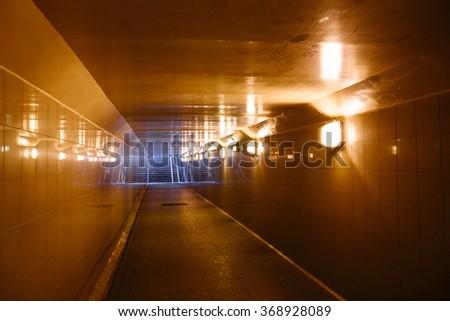 Underpass - stock photo