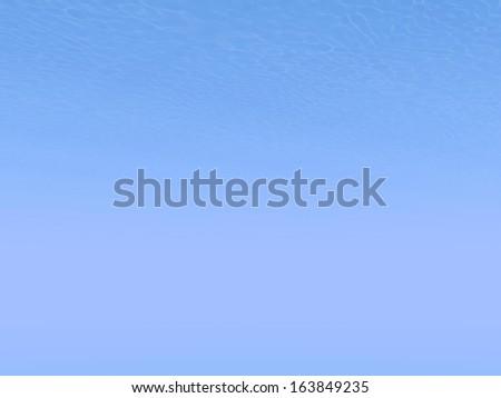 Underwater scene with light sun rays and deep blue - stock photo