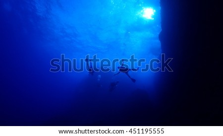 underwater world in Saipan
