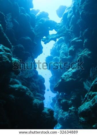 underworld - stock photo