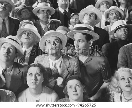UNDIVIDED ATTENTION - stock photo
