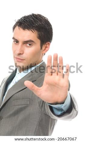 Unfriendly Person Clip Art Unfriendly serious businessman or security    Unfriendly Person