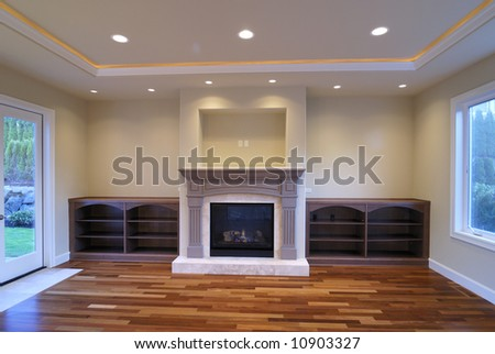 Unfurnished Family Room