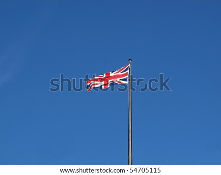 Union Jack national flag of the United Kingdom (UK)