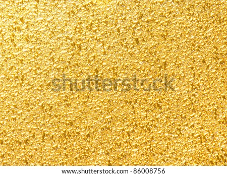 unique gold texture - stock photo