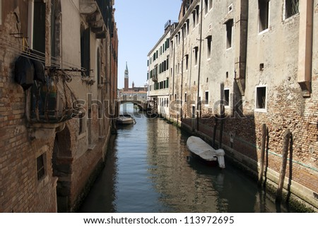 Unique Italian city of Venice