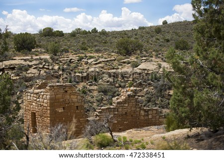 Unit Type House, Hovenweep National Monument