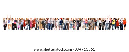 United Company Business Compilation  - stock photo