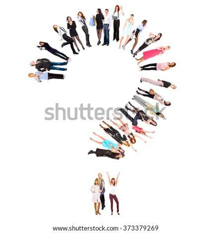 United Company Corporate Teamwork  - stock photo