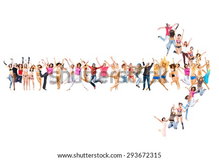 United Company Together we Stand  - stock photo