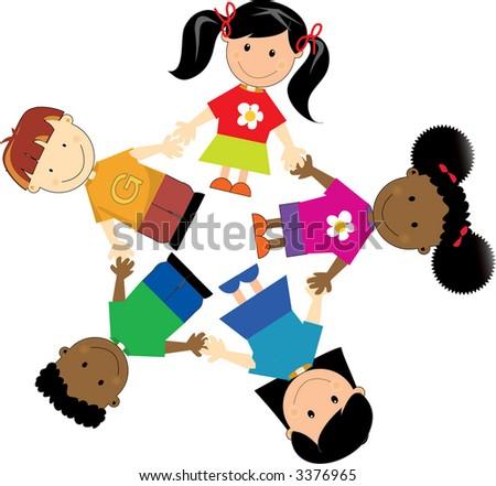 United Kids - stock photo