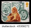 UNITED KINGDOM - CIRCA 1987: A stamp printed in the UK shows image commemorating the diamond jubilee of Queen Victoria (in 1897), circa 1987 - stock photo