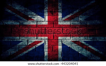 United Kingdom dark flag texture