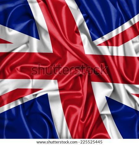 United Kingdom flag - stock photo